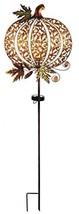 Sunset Vista Designs 14815 Pumpkin Garden Stake, Solar Powered Light - $35.79
