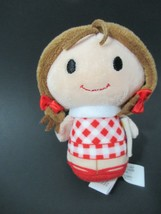 Rudolph the red nosed reindeer Hallmark Itty Bittys plush doll Dolly red... - $12.86
