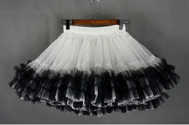 Women Girl Tiered Tutu Skirt Outfit Plus Size Puffy Party Tutu Skirt Blush Pink  image 12