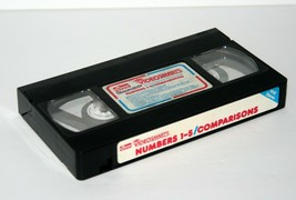 VIDEOSMARTS Numbers 1-5 Comparisons VHS Video Tape by Connor, 1986 - $18.69