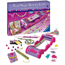 Ravensburger Girls Bead Magic Weaving Loom Craft Set for Making Jewelry  - $21.79