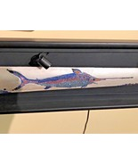 Swordfish Bill Handcrated Swarvoski Crystals Light Up LED Framed Origina... - $723.13