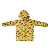 Cars Cute Baby Rain Jacket Infant Raincoat Toddler Rain Wear YELLOW M