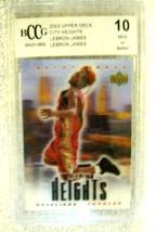 Lebron James RC 2004 Fleer USA Rookie Card GEM BGS 9.5! Cavaliers RC image 7