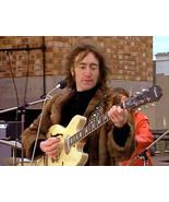 JOHN LENNON GUITAR STRAP ROOF TOP CONCERT THE BEATLES LET IT BE GET BACK... - $49.99