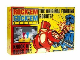 Rock'em Sock'em Robots by Mattel Vintage Original Box 1966 Classic Game Works - $59.99