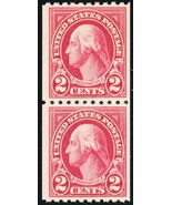 606a, Carmine Lake Color Mint VF NH Pair With PSE Cert Cat $350.00 - Stu... - $175.00