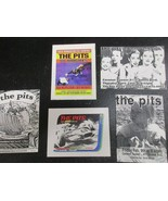 The Pits band Los Angeles set of 5 show flyers 1990s - $5.89