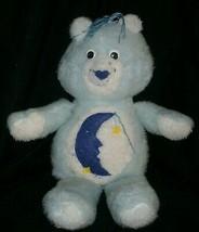 "16"" VINTAGE OOAK HAND MADE BLUE CARE BEARS BEDTIME STUFFED ANIMAL PLUSH ... - $31.09"
