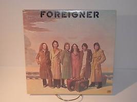 Foreigner Self Titled LP Record Debut  Album 1977 Atlantic SD18218 GC 4965 - $4.94