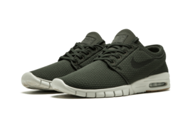 Nike SB Zoom Stefan Janoski Max SEQUOIA GREEN DARK OLIVE BLACK WHITE 631... - $68.81