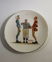 Norman Rockwell The Coin Toss Gorham China Collector Plate 1981 - $5.00