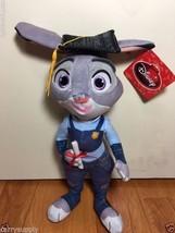 "Disney JUDY HOPPS Graduation Movie Zootopia Officer 15"" Plush - $18.45"