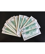 50 BILLS PROP MONEY REPLICA 50s All Full Print For Movie Video Films etc. - $19.99