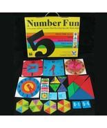 VTG Numbers Fun Math Memory Tens Fraction Tangram Clock Educational Scho... - $37.57