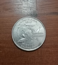 2002-P Louisiana Washington States Quarter - $500.00