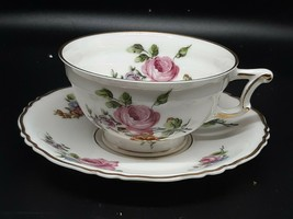 Rosenthal CHANTILLY tea cup/saucer excellent condition no gold loss - $25.00