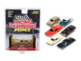 Mint Release 2 Set A Set of 6 cars 1/64 Diecast Model Cars by Racing Champions - $63.45