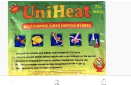 Heat Pack PURCHASE TO BE SHIPPED ACTIVATED WITH ORCHID::