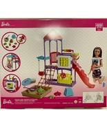 Barbie Babysitters Playground Playset + Skipper + toddler - $52.72