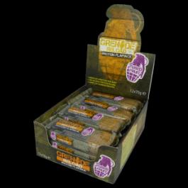 Grenade - Grenade Reload Protein Flapjacks, Fused Fruit - 12 Bars