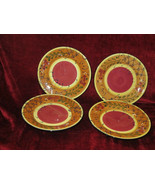 Ambiance Romance set of 4 salad plates  - $29.65