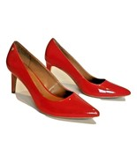 Calvin Klein Nilly Women's Red Patent Pointy High Heels Shoes Sz US 8.5/... - $45.99
