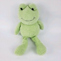 Animal Adventure Green Frog Sweet Sprouts Shaggy Plush Stuffed 2014 Baby Toy #t5 - $7.92