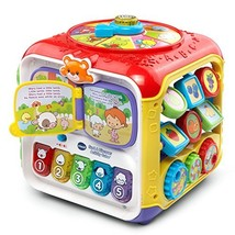 VTech Sort & Discover Activity Cube, Multicolor - $46.81