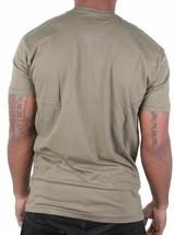LRG Homme Soulevé Montagne Militaire Vert Sur Haut Sol Weed Slim Fit T-Shirt Nwt image 2