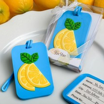 Citrus themed luggage tag from fashioncraft  - $4.99