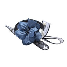3 Pieces Flora Ponytail Holders Women Hair Elastics Hair Tie Bowknot