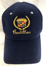 CADILLAC Navy Blue White Baseball Adjustable Hat Cap  - $19.99