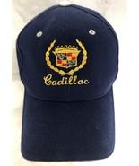 CADILLAC Navy Blue White Baseball Adjustable Hat Cap  - $19.99