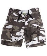 "Rothco Men's Vintage Paratrooper Cargo Shorts City Camo Size Small Waist 27-31""  - $18.76"