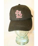 STL St Louis Cardinals MLB Black Sportservice Dad Outdoor adjustable Cap... - $19.95