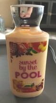 Bath & Body Works Signature Lotion Sunset By The Pool 8 FL OZ new - $10.88