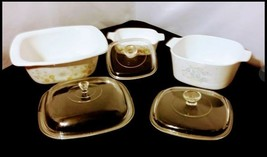 Corning Ware Serving Dishes AB 249 Vintage