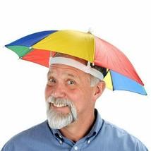 Headwear Cap Head Hat Outdoor Foldable Sun Umbrella Hat Golf Fishing Cam... - $4.94+
