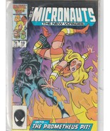 the Micronauts, the New Voyages #19  Marvel comics  - $17.21