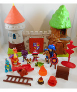 Mike The Knight Glendragon Castle Playset Fishe... - $22.27