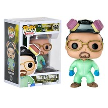 Fun Ko Breaking Bad Walter White Green Cook Suit New Entertainment Earth New - $120.62