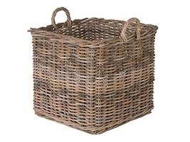 Kouboo 1060143 Kobo Square Rattan Decorative Storage Basket and Planter,... - $155.78