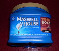 MAXWELL HOUSE SMOOTH BOLD BLEND GROUND COFFEE BOLD ROAST 26.7OZ - $9.57