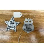 Marshall and Deputy Badge - $20.00