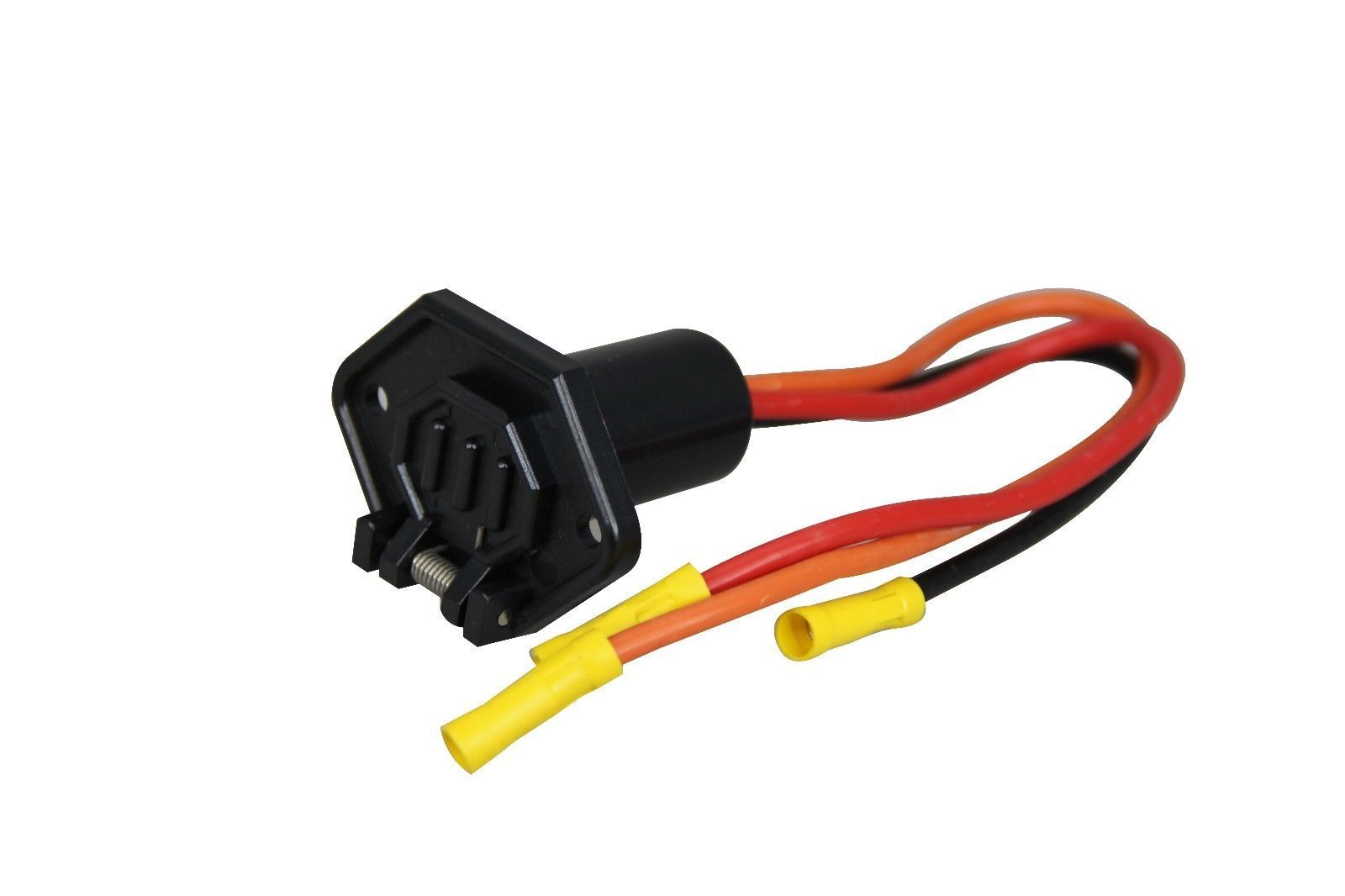 Primary image for Pactrade Marine Boat Trolling Motor Female Plug Connector 3-Wire 10 Gauge 12-24V