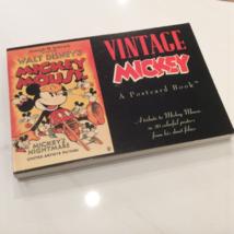WALT DISNEY Vintage MICKEY POSTCARD BOOK - $45.00