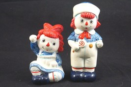 Vintage Fitz and Floyd 1972 Raggedy Ann and Andy Figurines Dolls - $11.18