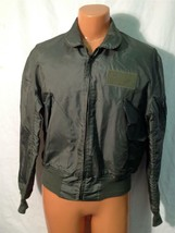 SUMMER AIR FORCE FLYERS COAT JACKET CWU-36/P LARGE  ITEM# H33 - $79.15