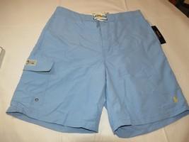 Mens Polo Ralph Lauren Board Shorts Swim shorts XL 710587928019 Lt Blue NWT - $74.24